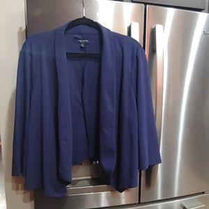 Lane Bryant Blazer Blue Size 22/24